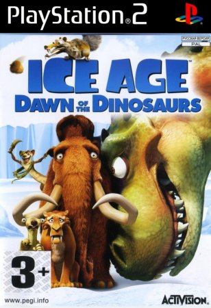 "Игра ""Ледниковый период 3: Эра динозавров"" (Ice Age: Dawn of the Dinosaurs) 2009  для PS2"