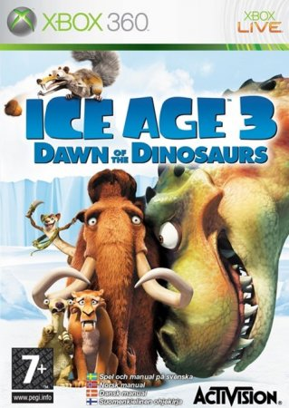 "Игра ""Ледниковый период 3: Эра динозавров"" (Ice Age: Dawn of the Dinosaurs) 2009  для Xbox 360"